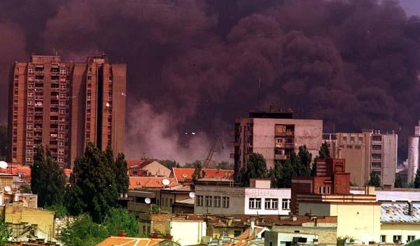 Operace Spojenecká síla_Novi Sad v plamenech