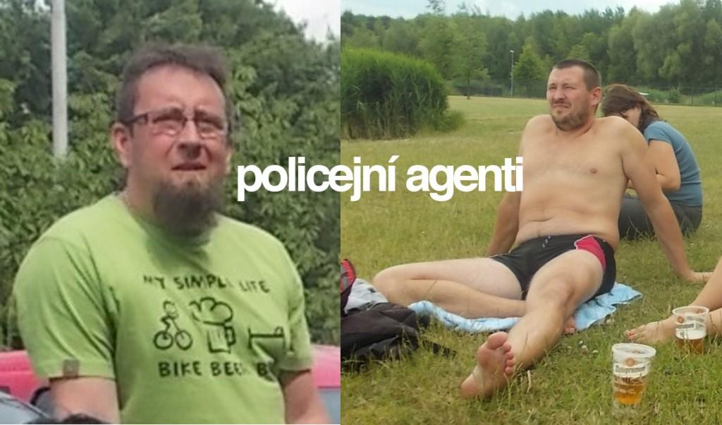 Policejní agenti